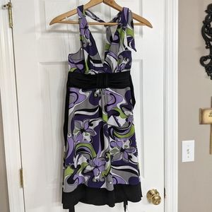 Cute halter top casual dress